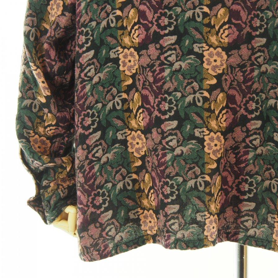 South2 West8 サウスツーウエストエイト - Smokey Shirt スモーキーシャツ - India Dobby - Flower