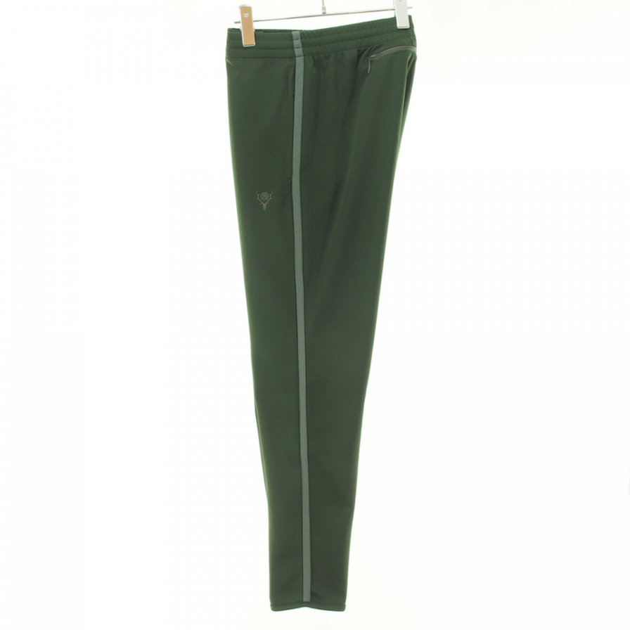 South2 West8 サウスツーウエストエイト - Trainer Pant トレイナーパンツ -  Poly Smooth - Green