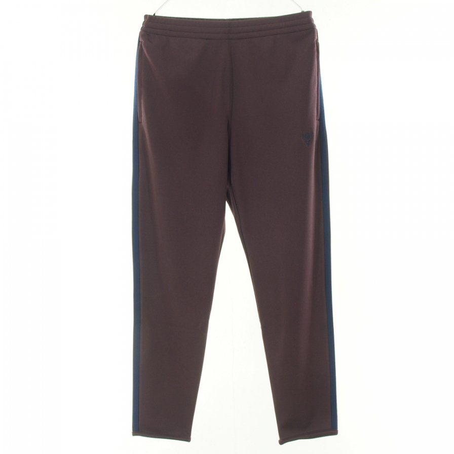 South2 West8 サウスツーウエストエイト - Trainer Pant トレイナーパンツ -  Poly Smooth - Burgundy
