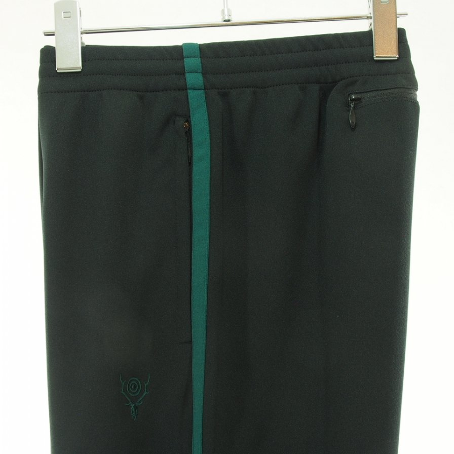 South2 West8 サウスツーウエストエイト - Trainer Pant トレイナーパンツ -  Poly Smooth - Black
