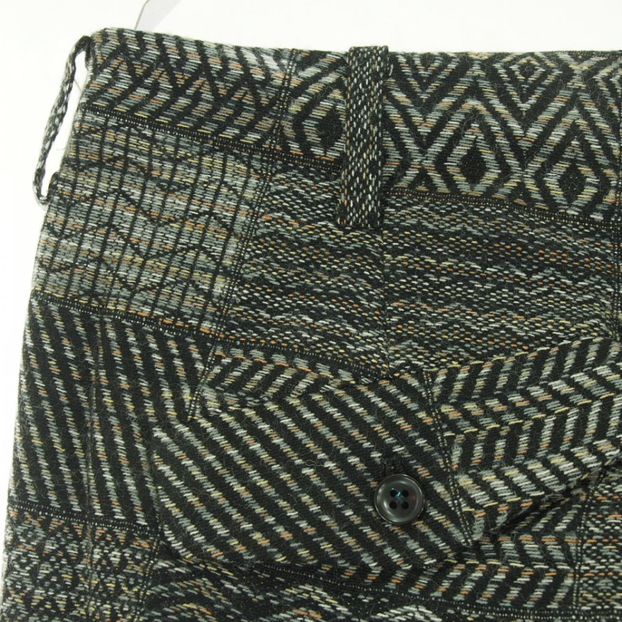 Needles ニードルズ - F.P. Boot-Cut Trouser ブーツカットトラウザー - W/N Multi Pattern Jq. - Charcoal