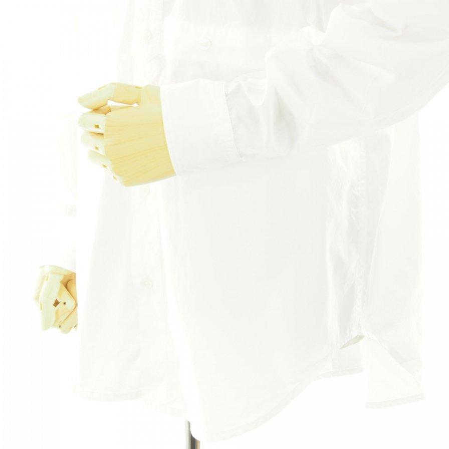 RANDT アールアンドティ - RT Shirt アールティーシャツ - 100'S 2Ply Broadcloth - White