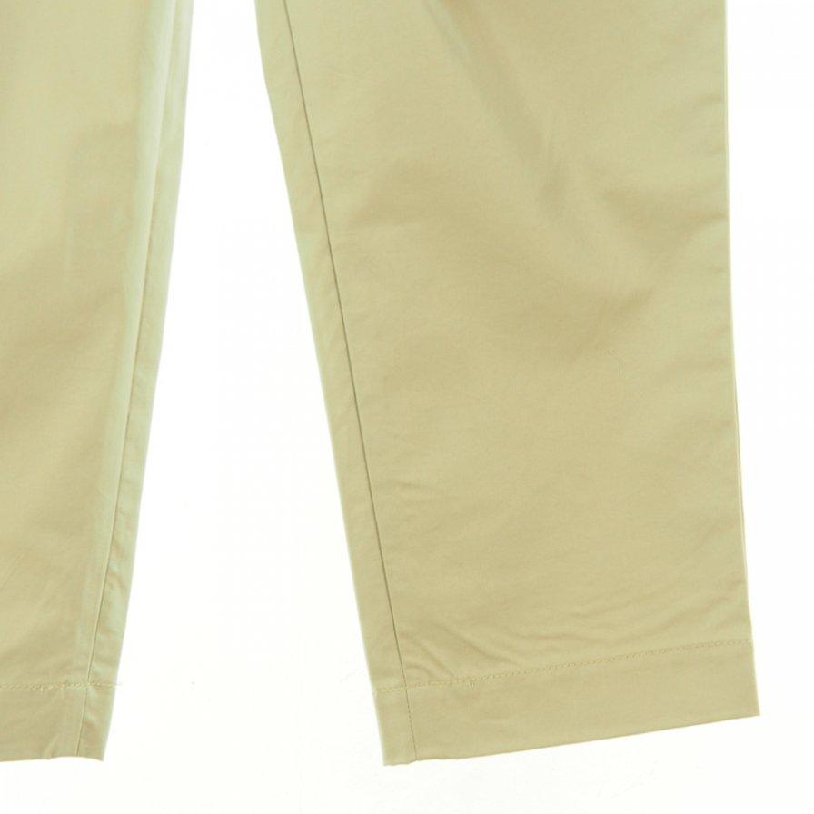 CORONA コロナ - 2T Desert Slacks ツータックデザートスラックス - Burberry Twill - Beige