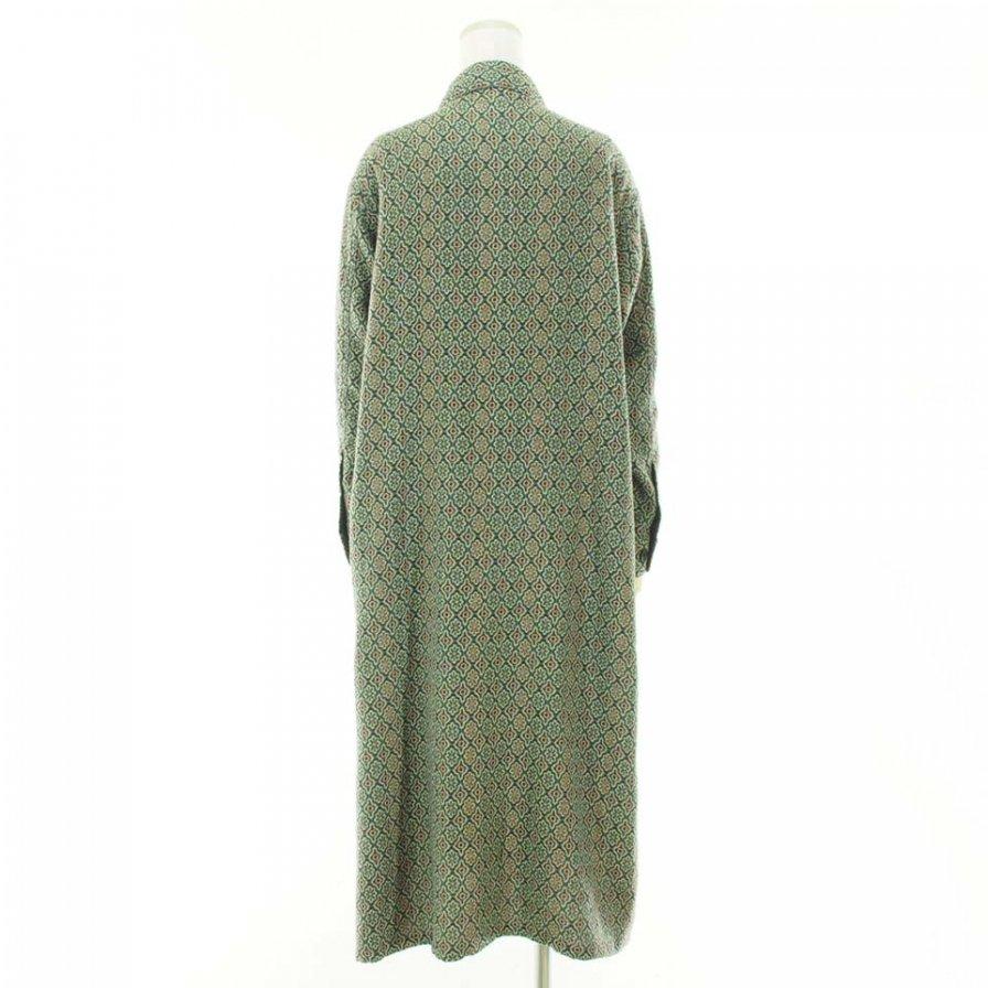 South2 West8 Woman サウスツーウエストエイトウォメン - Smokey Shirt Dress - India Dobby - Fine Pattern