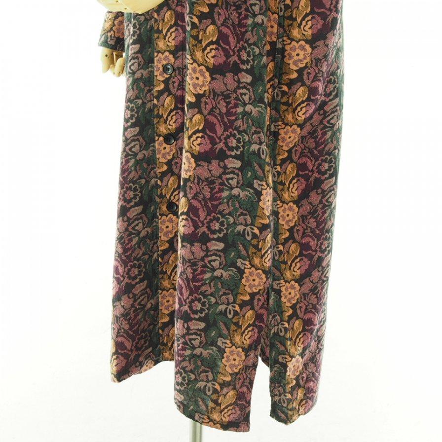 South2 West8 Woman サウスツーウエストエイトウォメン - Smokey Shirt Dress - India Dobby - Flower