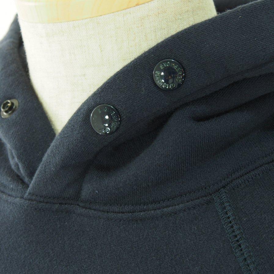 Engineered Garments エンジンニアドガーメンツ - Raglan Hoody ラグランフーディー - Cotton Heavy Fleece - Navy