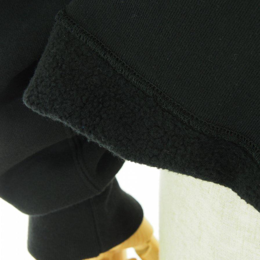 Engineered Garments エンジンニアドガーメンツ - Raglan Hoody ラグランフーディー - Cotton Heavy Fleece - Black