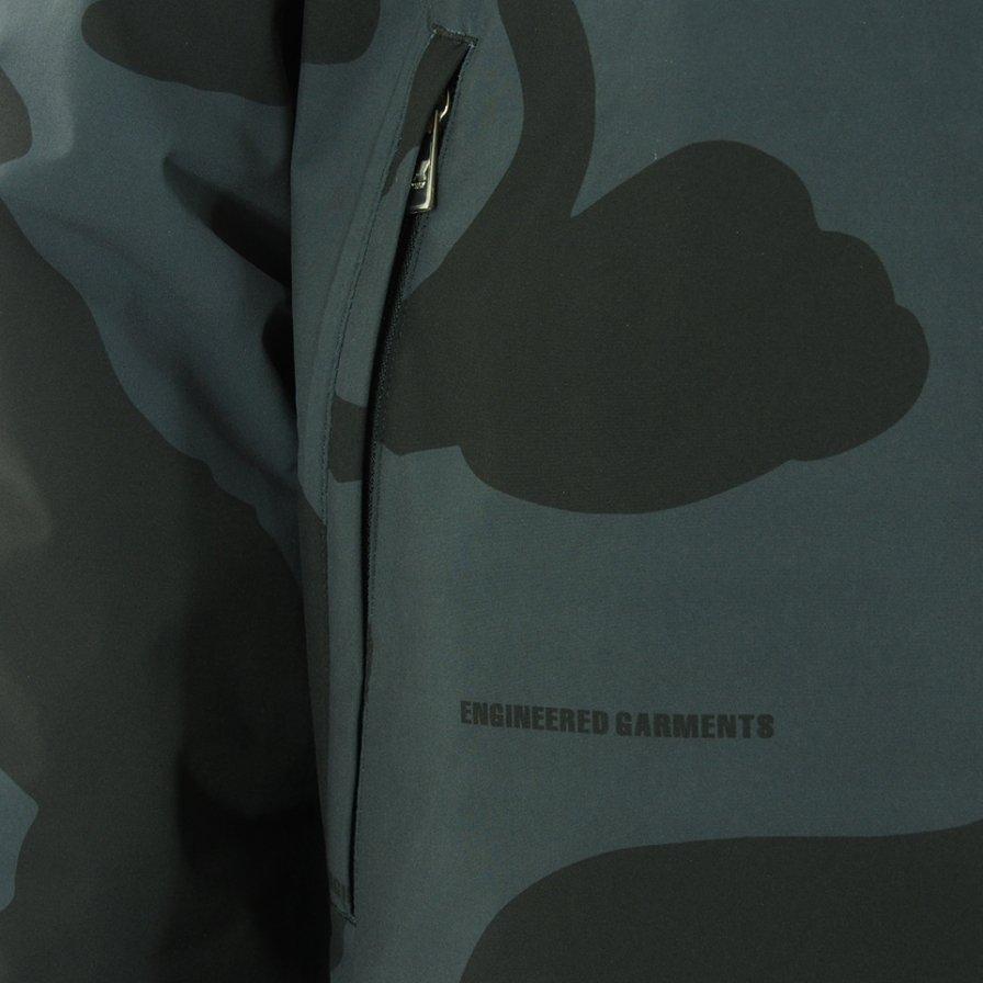 Engineered Garments x K-WAY エンジニアドガーメンツ x ケイウェイ - Parker - Animal Grey