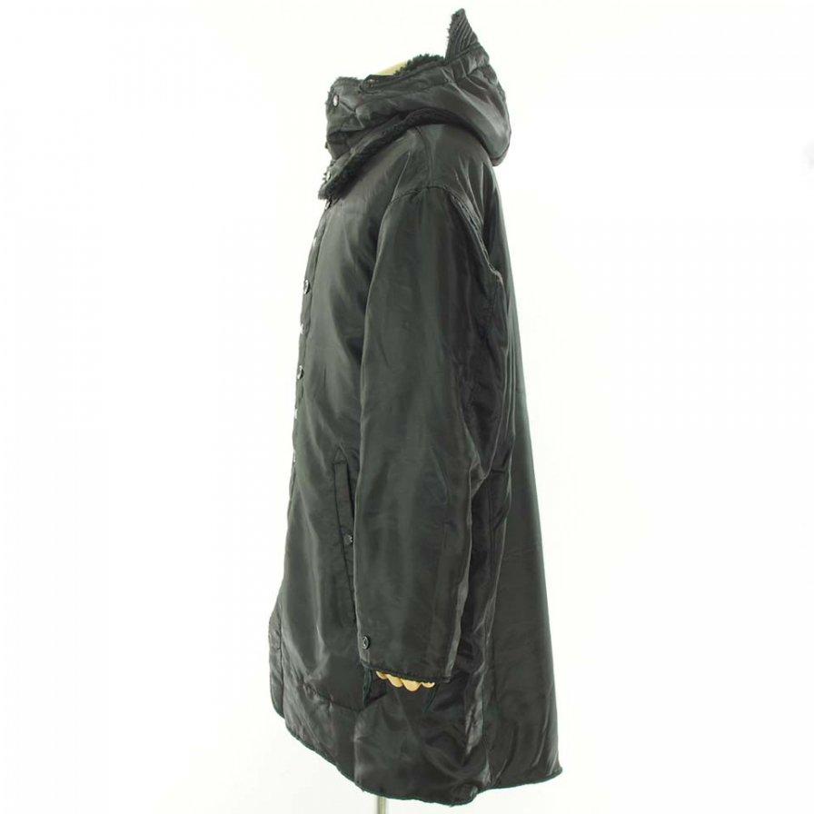 Engineered Garments エンジニアドガーメンツ - Liner Jacket ライナージャケット - Polyester Pilot Twill - Black