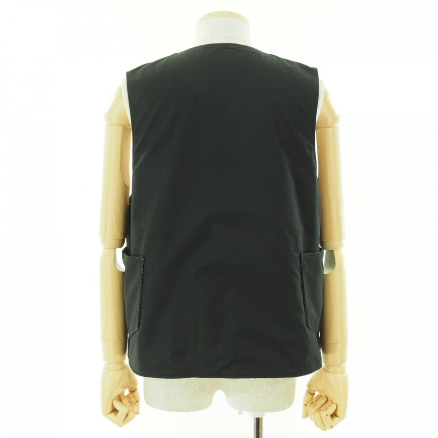 Engineered Garments エンジニアドガーメンツ - Over Vest オーバーベスト - PC Poplin - Black