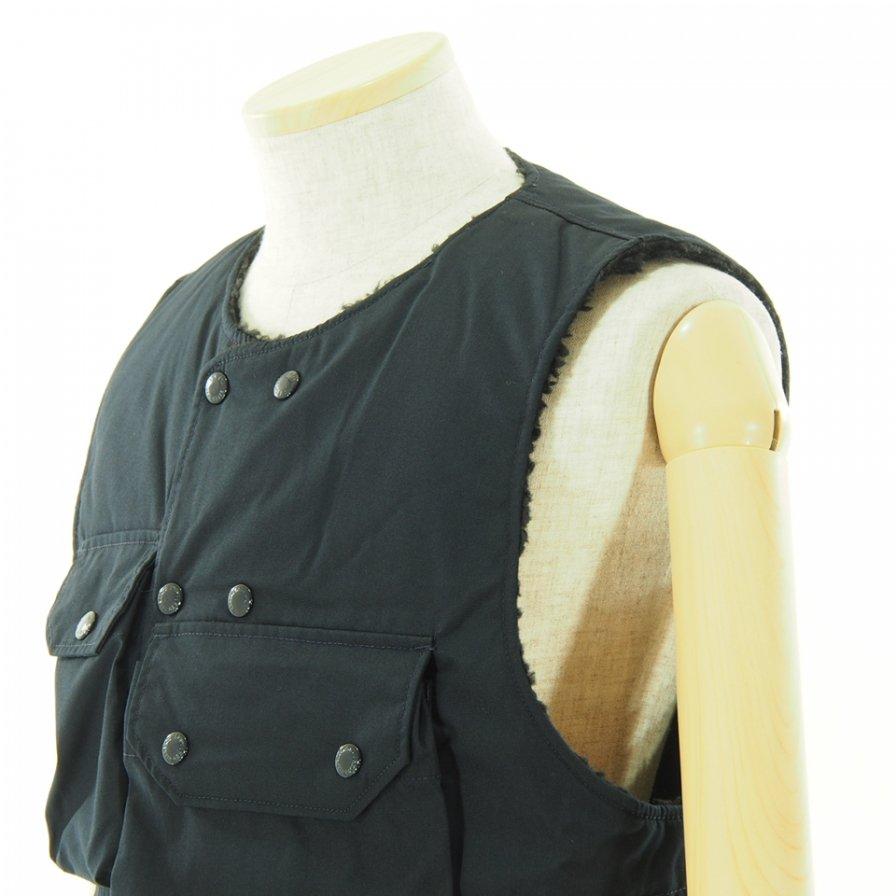 Engineered Garments エンジンニアドガーメンツ - Cover Vest カバーベスト - PC Poplin - Dk.Navy