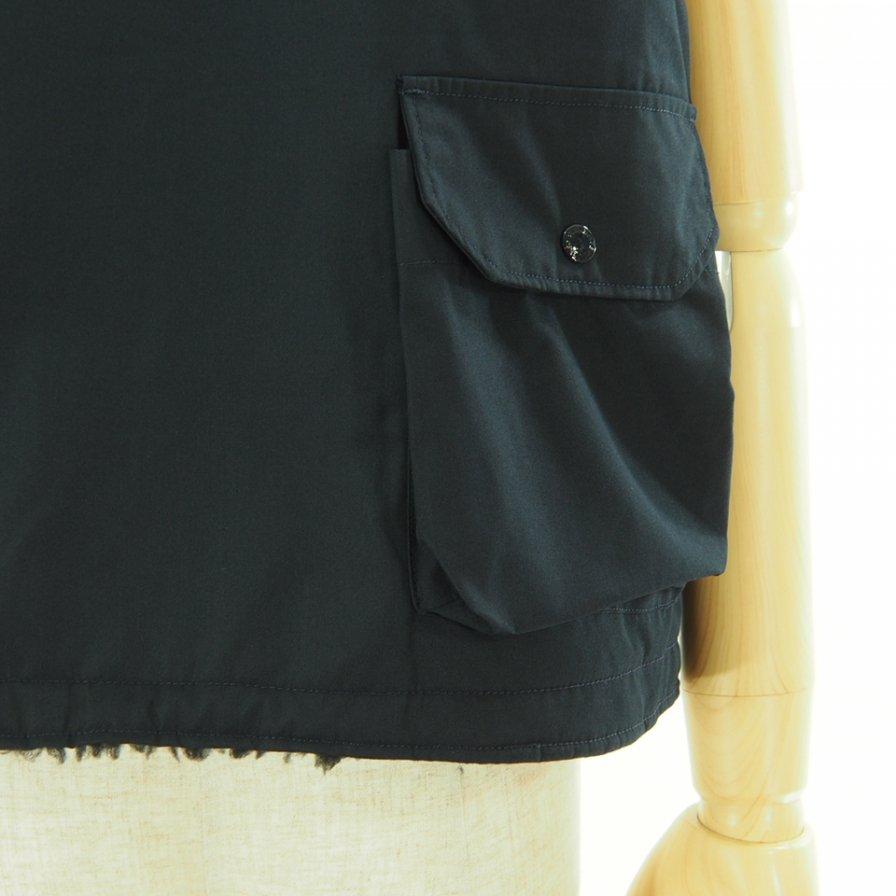 Engineered Garments エンジンニアドガーメンツ - Cover Vest カバーベスト - PC Poplin - Black