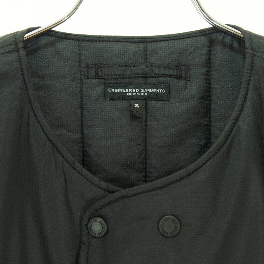 Engineered Garments エンジンニアドガーメンツ - Cover Vest カバーベスト - Nylon Micro Ripstop - Black