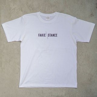 FAKIE STANCE Tee White