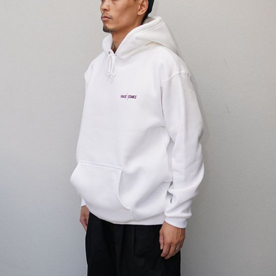 FAKIE STANCE Hoody White