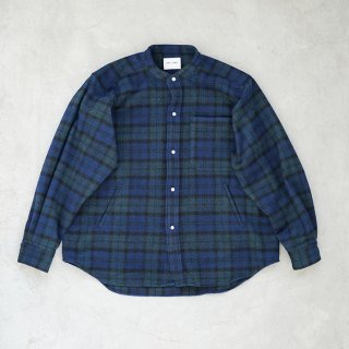 Fat Shirt Green×Blue