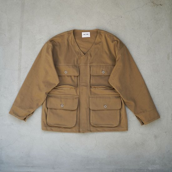 Warden Jacket Beige