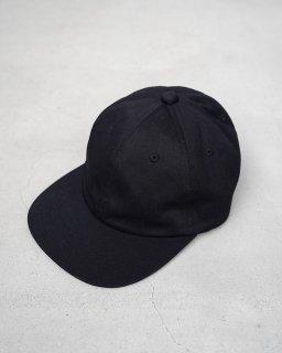 6panel Cap Black