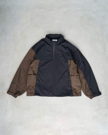 <img class='new_mark_img1' src='https://img.shop-pro.jp/img/new/icons1.gif' style='border:none;display:inline;margin:0px;padding:0px;width:auto;' />Track Jacket Black×Brown