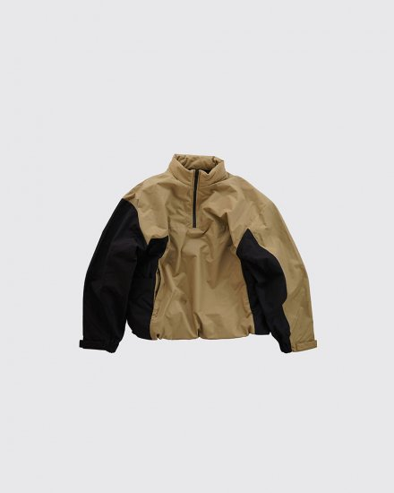 <img class='new_mark_img1' src='https://img.shop-pro.jp/img/new/icons1.gif' style='border:none;display:inline;margin:0px;padding:0px;width:auto;' />Track Jacket Beige×Black