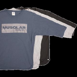 <img class='new_mark_img1' src='https://img.shop-pro.jp/img/new/icons15.gif' style='border:none;display:inline;margin:0px;padding:0px;width:auto;' />MUSQLAR 7分袖Tシャツ