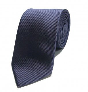 LOWLIGHT-S&B ICON EMBROIDERED NECK TIE BLUE GRY