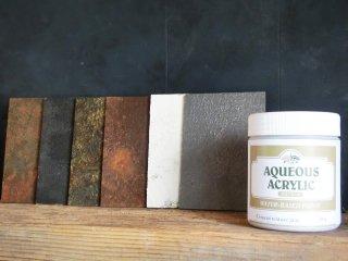ザラザラの砂入り塗料 セメントテクスチャーグレー