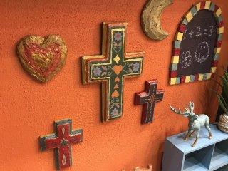 メキシカンな空間にぴったりの雑貨、オーナメント用のメキシカンクロスのカンタンな作り方