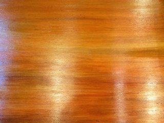 ベニヤ板を銅板風に塗装