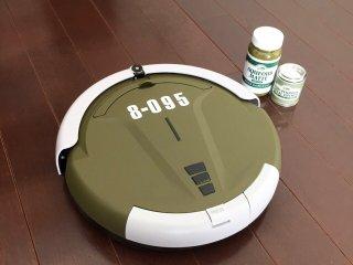 お掃除ロボットをインテリアに馴染むおしゃれな色で塗り替えた事例