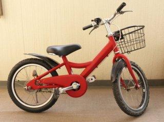 お下がりでもらった子供用自転車をリメイク塗装!