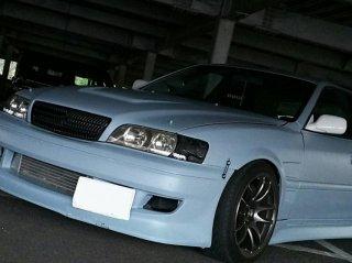 トヨタ チェイサーを世田谷ベースカラーで刷毛塗り全塗装!