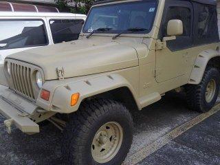 Jeepをローデシアブラウンで刷毛塗り全塗装!