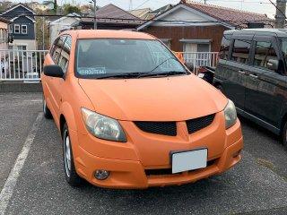 トヨタ ヴォルツをセレンゲッティオレンジで刷毛塗り全塗装!