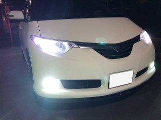 トヨタ エスティマハイブリッドをマットホワイトで刷毛塗り全塗装!