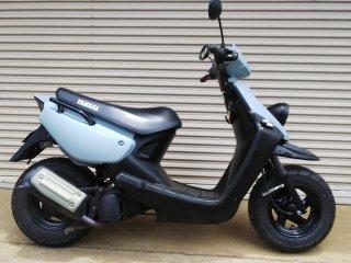 ヤマハ BW'S50を世田谷ベースカラーで刷毛塗り全塗装!