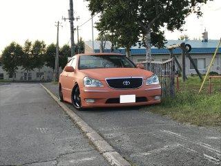 トヨタ 18クラウンマジェスタをセレンゲッティオレンジで全塗装!