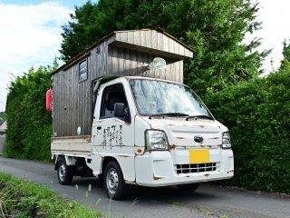スバル サンバートラックをカスタムカラー レトロホワイトで刷毛塗り全塗装!