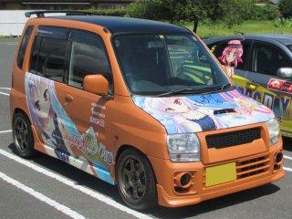 三菱 トッポBJをセレンゲッティオレンジで刷毛塗り全塗装!