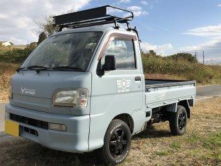 ダイハツ ハイゼットトラックを世田谷ベースカラーで刷毛塗り全塗装!