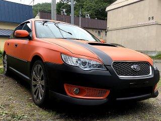 スバル レガシィCBA-BP5をカスタムカラー 09-50Xで全塗装!