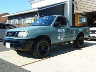 日産 ダットサントラックをKURAYAオールドブルーシーで全塗装!
