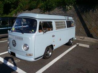 VWレイトバスを世田谷ベースカラーで全塗装