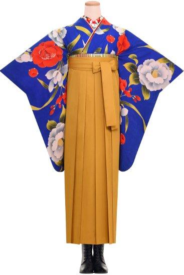 卒業式 アンティーク着物レンタル☆ 【あをい椿】【SH0027】