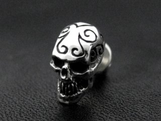 【CP-743】【CRAZY PIG】 Tribal Skull Stud