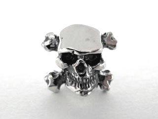 【CP-132】【CRAZY PIG】 Skull & Cross Bones Stud