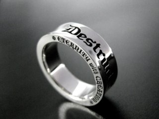 【DSR-006】DST 6th Message Logo Ring