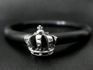 【TRANSCORE】 TSC Crown Rubber Bracelet