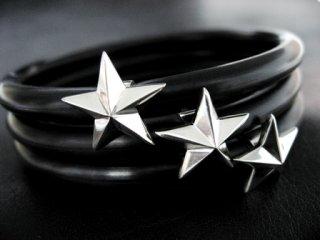 【TRANSCORE】 TSC Star Rubber Bracelet