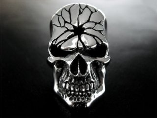 【TRANSCORE】 Crush Skull Ring